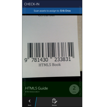 Using HTML5 to Scan 1D and 2D Barcodes