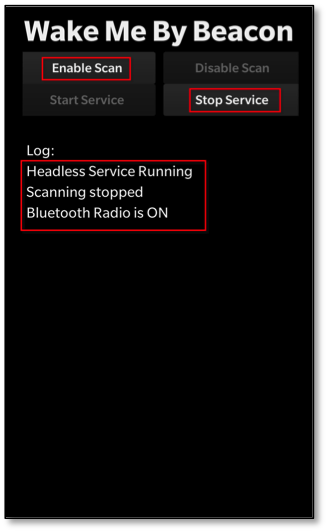 Wake Me By Beacon! Beacon Technology in a BlackBerry 10 Headless App