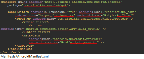 Android Widgets in the Enterprise