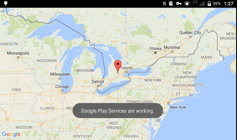 Debugging Google Maps with Secure Work Space on