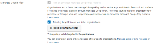 New Google Play Publishing Method Enables Targeted Distribution